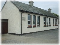 Old schoolhouse, now the Community Centre